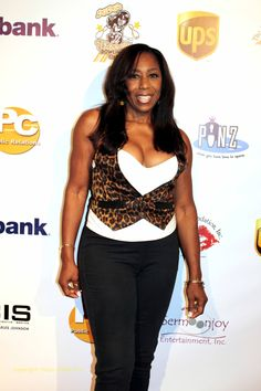 Dawnn Lewis  (actress) at the K.I.S Foundation's 13th Annual Celebrity Bowling Challenge to raise money for Sickle-cell disease awareness on September 24, 2016.  Copyright: Disco Stella's Pics.