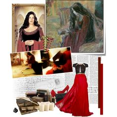 Lord of the Rings by chomiczynka on Polyvore featuring Angel Sanchez, Nicole Miller, Jason Wu and Victoria Beckham