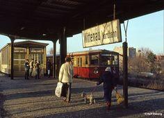 Am Bahnhof Wittenau (Nordbahn) in den East Germany, Berlin Germany, West Berlin, Berlin Berlin, Berlin Hauptstadt, Bahn Berlin, S Bahn, Life Pictures, Cold War