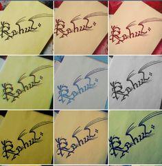 Rahul #calligraphy  #calli
