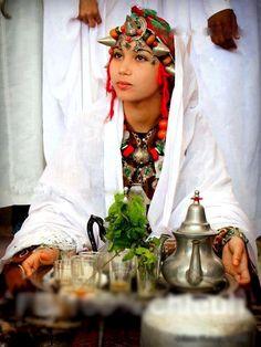 Berber Woman. Morocco.