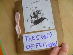 The Story of Ferdinand - cute ideas from The Unplugged Family