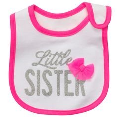 Little Sister Carters bib - For Arianna