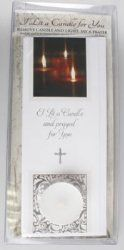Singly Boxed - I Lit A Candle Card with Votive Light. Deepest Sympathy, The Good Shepherd, Sacred Heart, Sympathy Cards, Frame, Picture Frame, Frames, Hoop