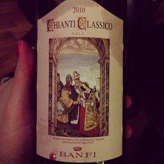#chianticlassico Banfi #wine