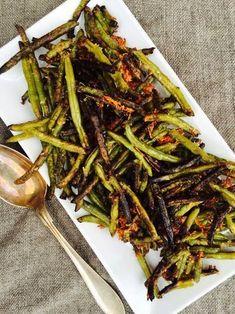 Food and Drink on Share Sunday Crispy Green Beans, Fried Green Beans, Food N, Food And Drink, I Love Food, Good Food, Healthy Snacks, Healthy Eating, Vegetarian Recipes