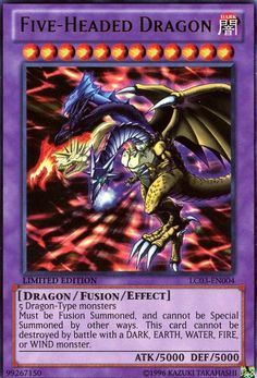 TOPSELLER! Yu-Gi-Oh! - Five-Headed Dragon (LC03-EN004) - Legendary Collection 3: Yugi`s World - Limited Edition - Ultra Rare $0.75