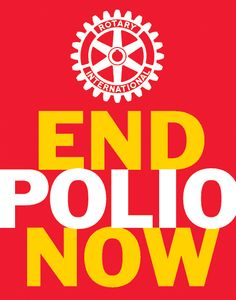 Go on a NID and help END POLIO NOW!