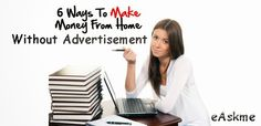 How to Make Money from Bog Without Advertisements - eAskme | How to, Learn Blogging Online, Make Money Online