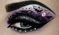 Not where to place this one but I kind of am fascinated by this eye make-up. It would look great on a fairy! From Gothic and Vampire