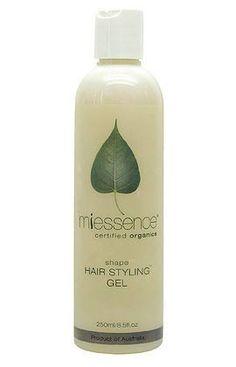 Miessence Organic Shape Hair Styling Gel. $26.20
