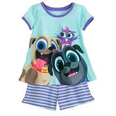 New Disney Puppy Dog Pals Shorts Sleep Set Girls online shopping - Topniftytrendy Disney Pajamas, Kids Pajamas, Pyjamas, Birthday Images For Her, Puppy Birthday, 3rd Birthday, Birthday Ideas, Kids Party Themes, Party Ideas