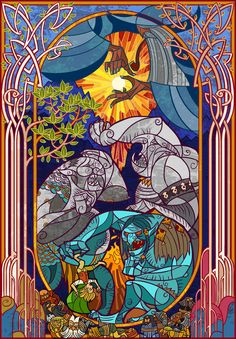 ilustracion Lord of the Rings