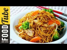Stir Fry Chicken Noodles 鸡肉炒面 | The Dumpling Sisters - YouTube- tried and tested. Best one I've done. Used worcestshire sauce instead of soya and added vinegar to the chicken marinade at the start