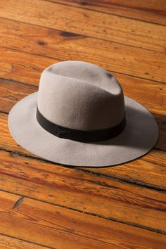 Wool Medium Brim Fedora by Hat Attack