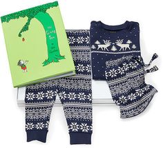 Ralph Lauren Bedtime Book & Sleep Gift Set  $57 by Ralph Lauren at Ralph Lauren  COPY LINK   FAVORITE        Available Colors: multi Available Sizes: 9 MOS DETAILS Make memories with this festive Fair Isle–patterned sleep set and Shel Silverstein's beloved classic The Giving Tree . This set comes with a sleep top, a sleep pant, a drawstring pouch, and The Giving Tree . Sleep set: 100% cotton. Machine washable.
