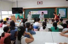 자은초등학교, 학부모와 함께하는 다문화 음식체험 행사 개최