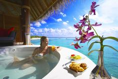 Room with a view...in the Maldives