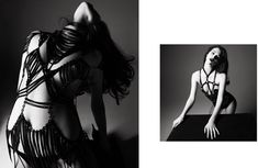 Anais Pouliot by Daniel Jackson for Exhibition Magazine #2 'The Leather Issue' NSFW - Touchpuppet