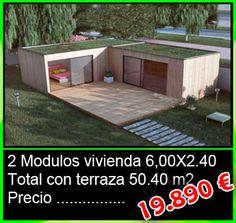 Mini casa forrada de madera