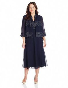 8a4c2568cf07b Women S Plus Size 30 Dresses  PlusSizeMotherOfTheBridePantSets Gown With  Jacket