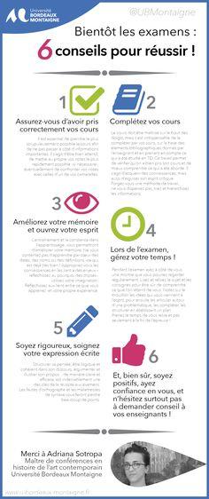 El Conde. fr: Bientôt les examens! Conseils pour réussir