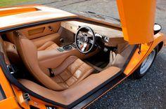 Lamborghini Countach LP400 interior.