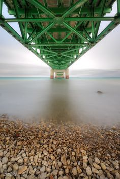 Belly of the Mackinac Bridge in Northern Michigan. Grand Rapids Michigan, Detroit Michigan, Lake Michigan, Mackinac Island Bridge, Mackinaw City, Picture Places, Upper Peninsula, Northern Michigan, Places Of Interest