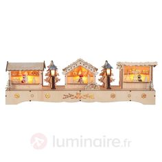 Arche LED pleine d'ambiance Marché de Noël 1522892
