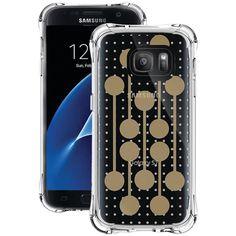 BALLISTIC JM4091-B16N Samsung(R) Galaxy S(R) 7 Jewel Mirage Case (Translucent Clear-Gold, RETRO)