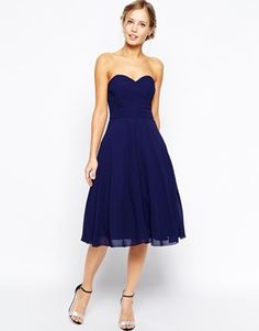Enlarge TFNC Debutante Midi Dress