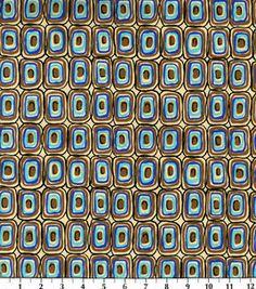 Fashion Bottomweight- Exotica Geo Squares Twill: Fashion Collections: apparel fabric: fabric: Shop | Joann.com