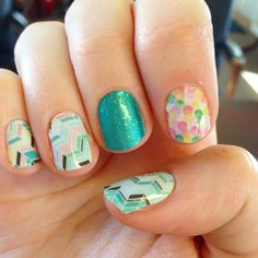 Jamberry gelato jaded and out of focus