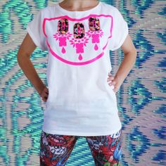 Ditsy, Vintage Floral, Tank Man, Applique, Colour, T Shirts For Women, Mens Tops, Pink, How To Wear