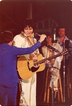 """1955 Elvis performed in """"The West Monroe High School Auditorium"""", Monroe, Louisiana and Fat Elvis, Rare Elvis Photos, Elvis Presley Concerts, West Monroe, Big Town, Elvis And Priscilla, Music People, In Hollywood, The Beatles"""