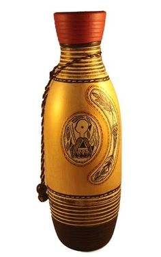 Shop Hand Painted Tradition Art On Terracotta Vase - 11 Inch Golden - Vase By Craft Lounz by Craft Lounz online. Largest collection of Latest Vases online. ✻ 100% Genuine Products ✻ Easy Returns ✻ Timely Delivery
