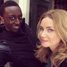Ahmed Sylla et Marine Delterme