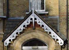 Victorian gable ornaments