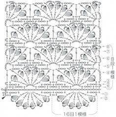 Veerochki pattern with magnificent columns