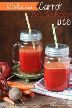 Carrot Apple- Beet Juice