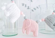 virkattu norsu vaunulelu Baby Art, Knitting For Kids, Diy, Bebe, Tutorials, Bricolage, Do It Yourself, Homemade, Art Kids
