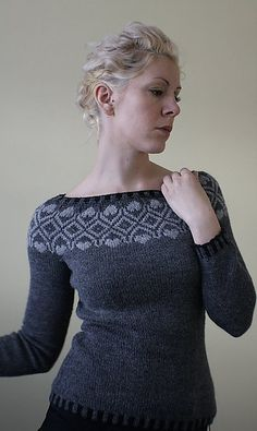 Ravelry: rockandpurl's Vogue Knitting Fair Isle Cool Sweaters, Knit Sweaters, Cardigans, Vogue Knitting, Fair Isle Pattern, Fair Isle Knitting, Knitting Designs, Knitting Patterns, Crochet Patterns