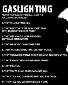 Gaslighting - (Sexual) Harassment at Work Narcissistic People, Narcissistic Mother, Narcissistic Behavior, Narcissistic Abuse Recovery, Narcissistic Personality Disorder, Narcissistic Sociopath, Sociopath Traits, Sociopathic Behavior, Trauma