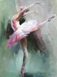 Handmade Abstract Ballerina Dancer Painting Swan Lake Girl Oil Painting for Living Room Wall Decor Office Art Portrait Picture Ballerina Painting, Ballerina Art, Ballet Art, Ballet Dancers, Ballet Room, Ballerina Project, Dance Paintings, Oil Paintings, Beautiful Paintings