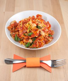 Dress dinner in a bow tie! This one-pot pasta recipe is easy and cheesy enough for even the smallest chefs.