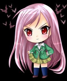Here you will find a collection of some of the very best Rosario Vampire wallpapers.