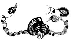 Black & white. Scorpio