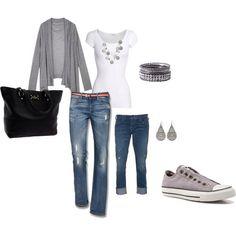 <3 my gray converse