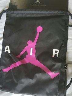 Jordan Sling Backpack Black/Pink | Clothing, Shoes & Accessories, Unisex Clothing, Shoes & Accs, Unisex Accessories | eBay!