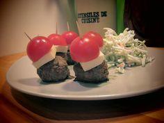 Mini-burgers paléo